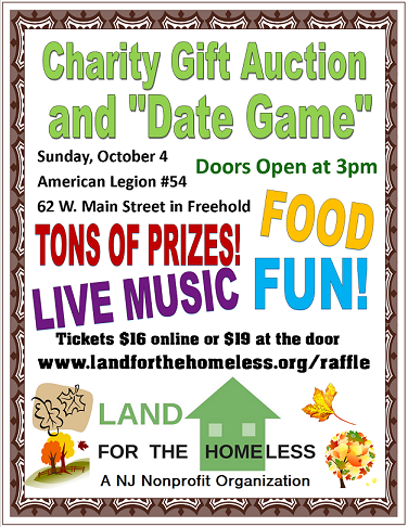 Get Tickets to our Charity's Oct  4 Raffle! | Land for the